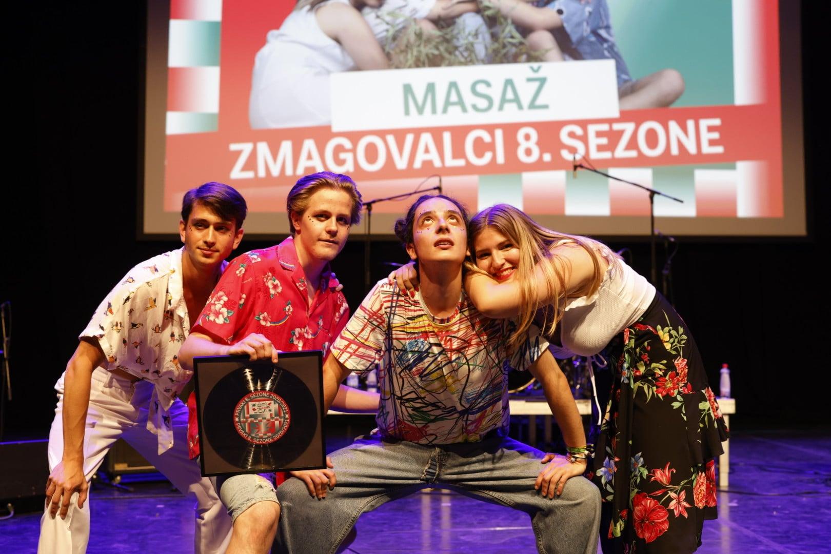 Letošnji zmagovalci Špil Lige so Masaž!